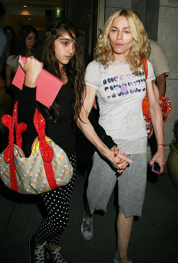 Could Madonna Be Too Thin? - Fit Tip Daily