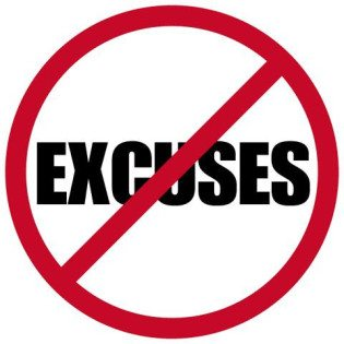 no excuses for exercising