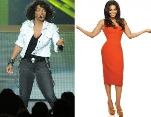 Janet Jackson before and after nutrisystem