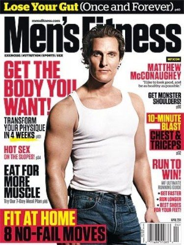 matthew mcconaughey and muscle confusion