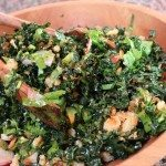 Yummy Kale Salad Recipe –  High fiber, low calorie, low carb, You'll be see through in no time