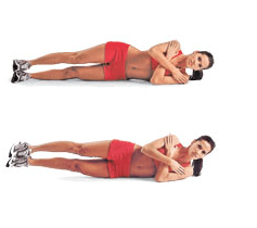 how to exercise your love handles