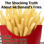 Why you shouldn't eat Mcdonalds fries