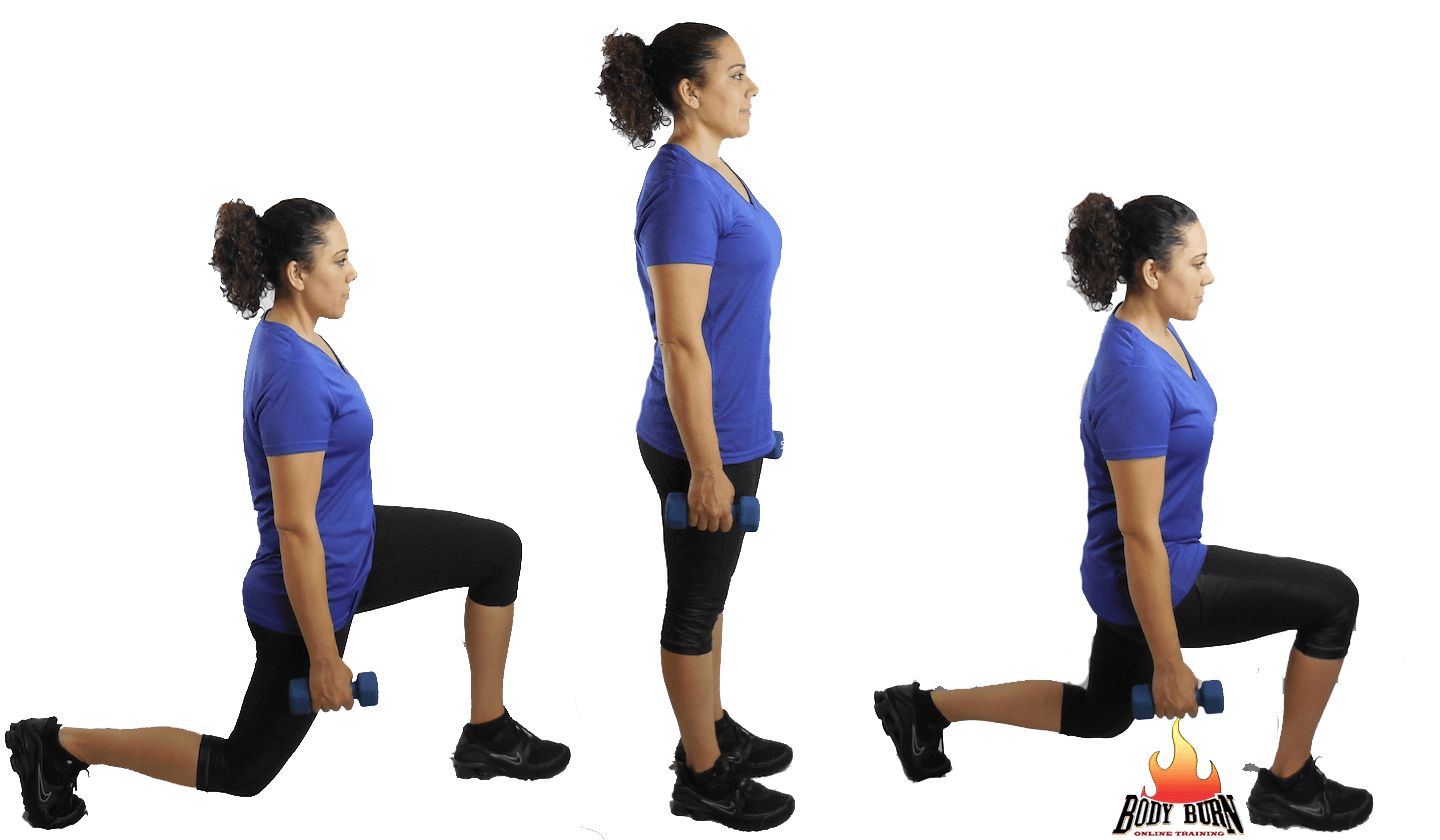 Exercise of the Week - Front, Back Lunge For Awesome ...