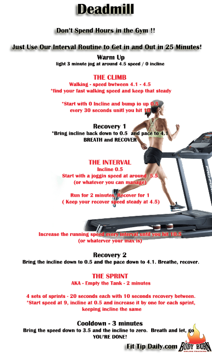 training for treadmill beginners on hiit