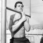 Rock Hudson Working out