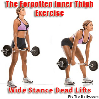 The Forgotten Inner Thigh Exercise - Wide Stance Dead ...