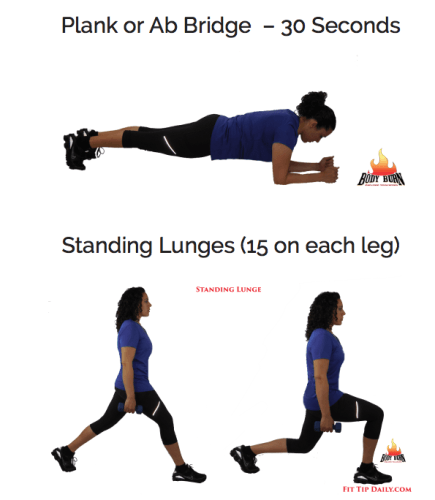 Standing Lunge
