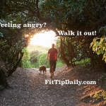 walking and anger