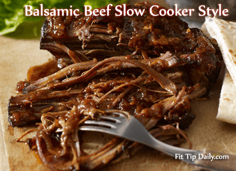 balsamic beef - low carb recipe