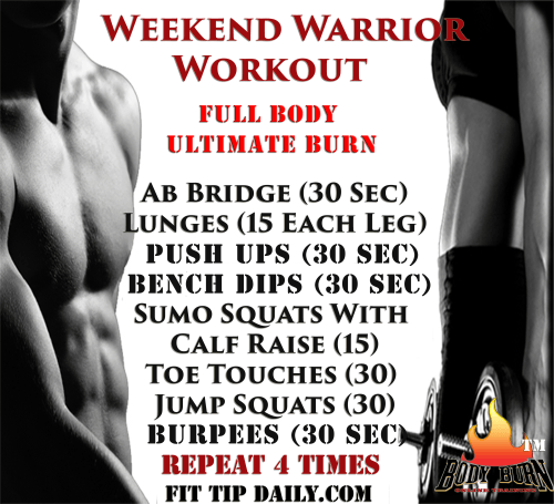 Turn Up the Heat With Our Body Burn® – Weekend Warrior II