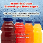 how to make your own electrolyte water