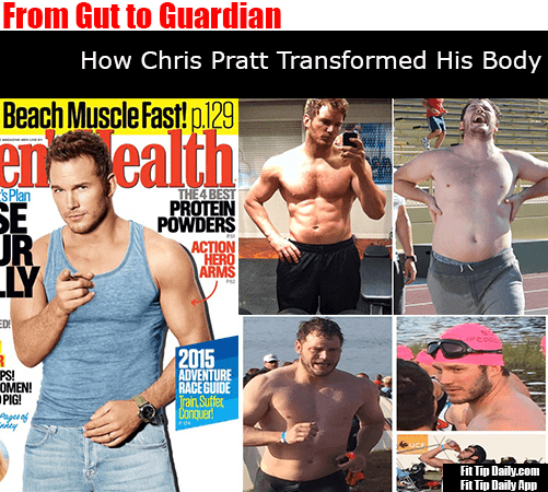 The Transformation of Chris Pratt From Couch Potato to Fit Action Star
