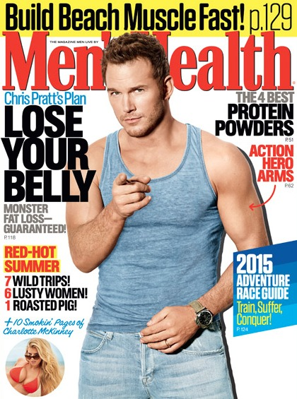 Celebrity Diets and Health  - Magazine cover