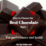 healthiest chocolate bars