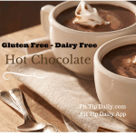dairy free gluten free hot chocolate recipe