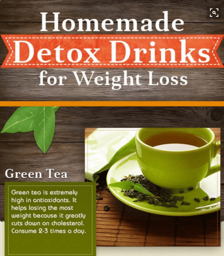 detox drink recipes