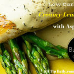 Low Carb Monday – Creamy Lemon Chicken with Asparagus