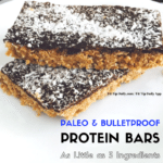 Low Carb Monday, Bulletproof and Paleo Protein Bars