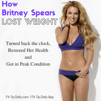 Britney Spears weight loss