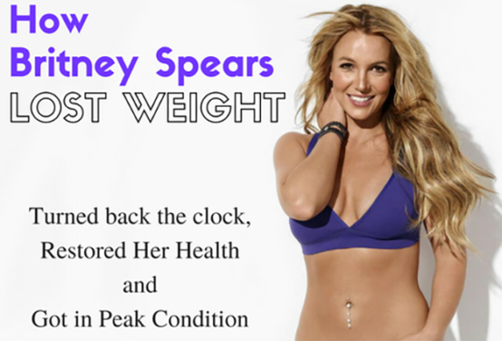 Oops She Did it Again - Britney Spears Weight Loss