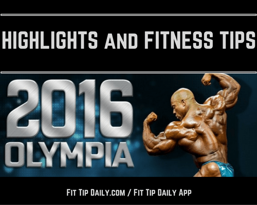 highlights of the mr olympia 2016
