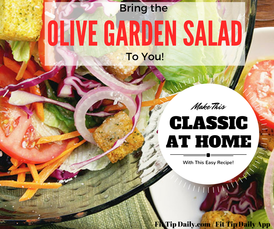 Olive Garden Salad Recipes