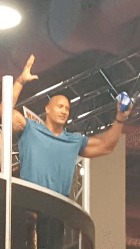 Dwayne Johnson Olympia Expo 2016