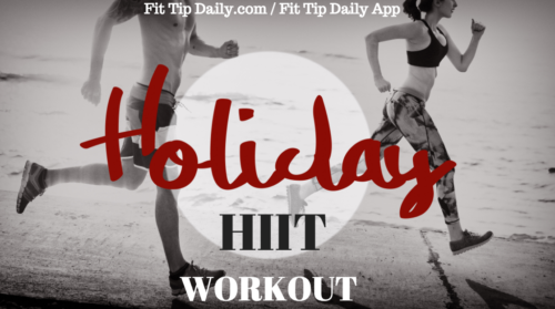 holiday exercise routine