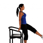 Lift and Tone Your Butt With One Leg Chair Squats