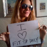 Show Your To Love Fit Tip Daily – Send Us You're Fit Tip Daily Photo and Win!