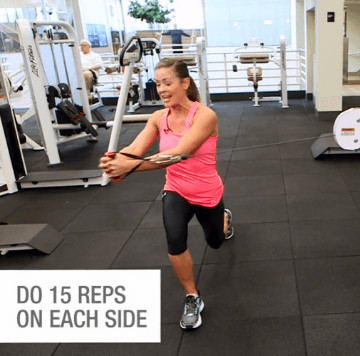 cable machine exercises  3 ways to tighten your core