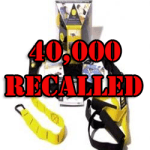 TRX Suspension Training System 40,000 Recalled