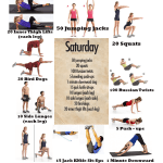 Pinterest Exercises Dissected – Exercise Routines -Tuesday