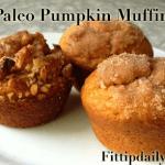 Paleo Recipe – Pumpkin Muffins – Low Carb and Gluten Free