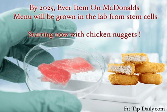 Mcdonalds Announces It S The First Chain To Produce Lab