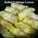 Low Carb Recipe Monday – Crock Pot Cabbage Rolls