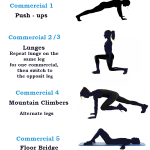 Commercial Break Workout Routine