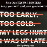 Excuse Busters – Ditch the Excuses to Find Your Lasting Results