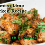 Paleo Cilantro Lime Chicken