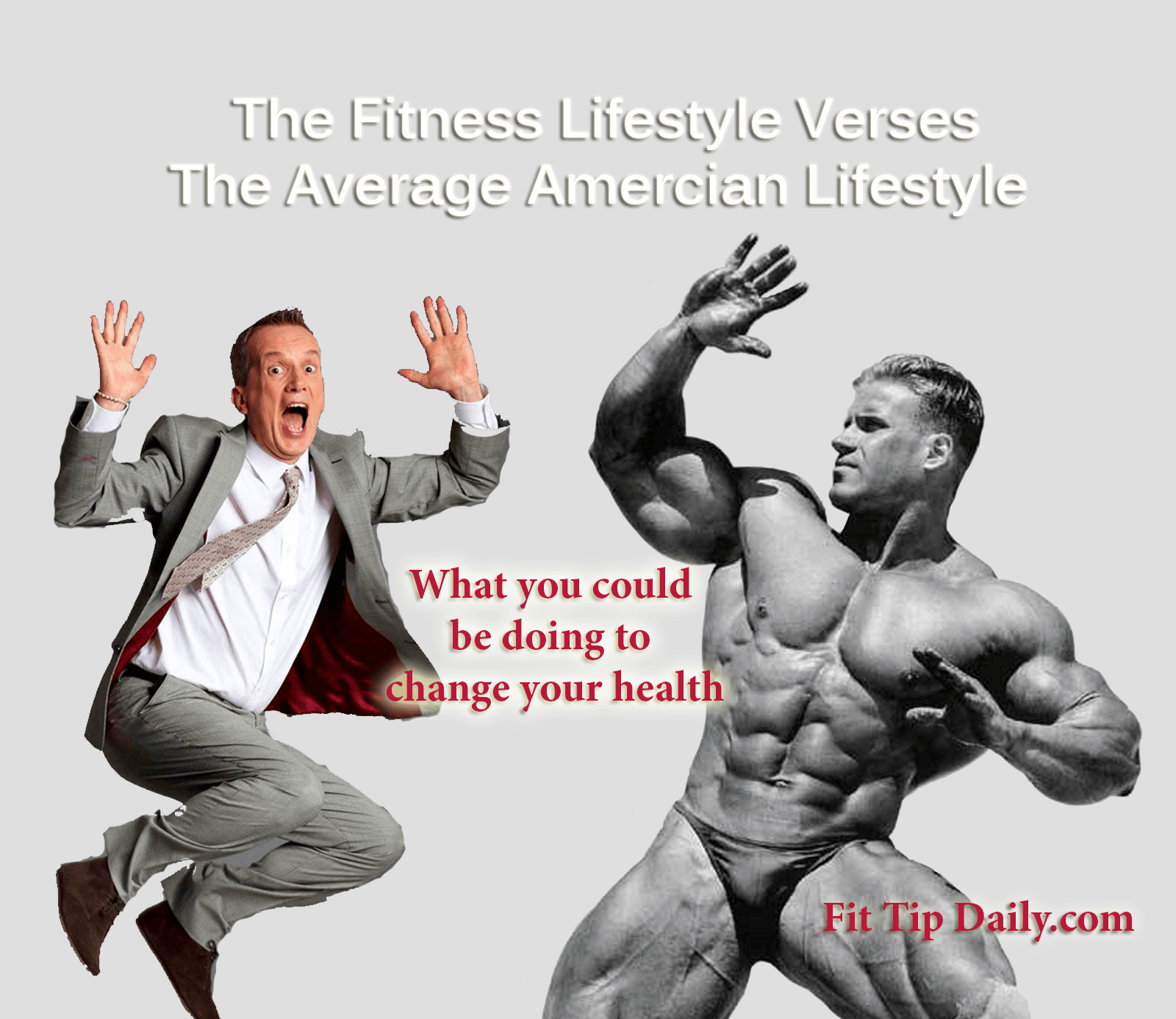 The Fitness Lifestyle Verses the Average American - Fit ...