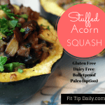Low Carb Recipe Monday – Stuffed Acorn Squash