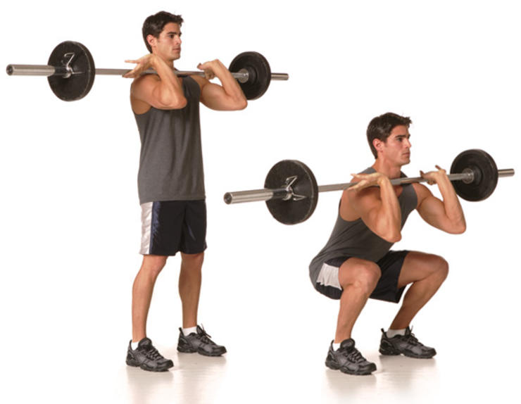 Proper Technique for the Front Squat - Fit Tip Daily