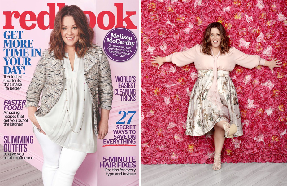 Melissa McCarthy on the Cover of Readbook