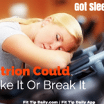 Got Sleep – Healthy Nutrition Plays a Part in Restful Sleep