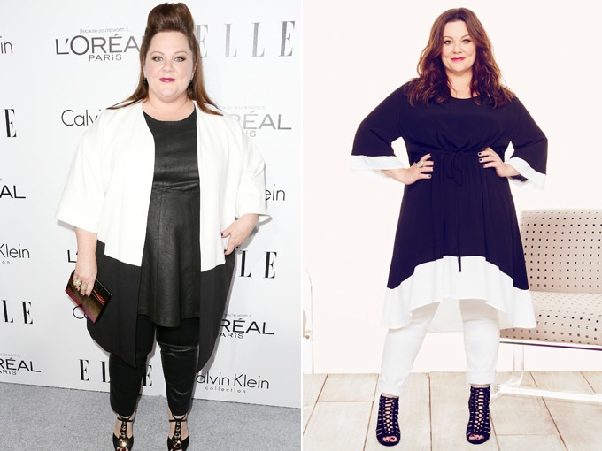 Melissa McCarthy's Before and After