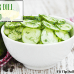 Low Carb Monday – Cucumber Dill Salad