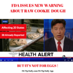 FDA Issues Warning About Raw Cookie Dough – But It's Not For What You Think