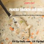 Gluten Free Copycat Panera Chicken and Rice Soup
