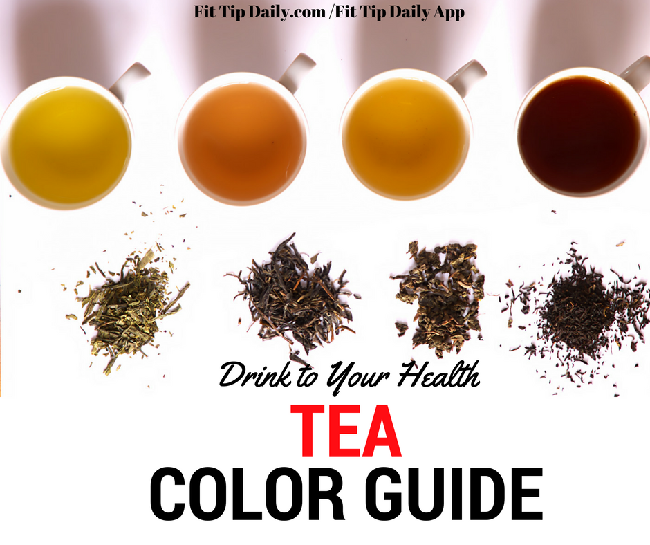 Drink To Your Health Tea Color Guide